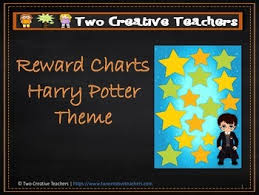 How To Use A Reward Chart Reward Chart Sticker Chart Harry Potter Theme