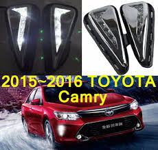 2017 Toyota Camry Led Fog Lights Car Styling 2015 2017 Camry Daytime Light Led 2pcs Set Camry