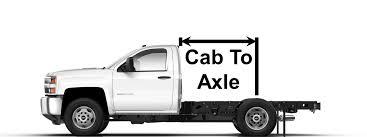 Cab To Axle Body Length Chart Ford Blog Knapheide Website