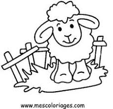 Small Picture Baby Sheep Chasing Butterfly Coloring Pages Sheep Coloring