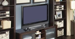 Tv:Stunning Modular Tv Stand With Cabinet And Curved Unique Bookcase  Pertaining To Tv Unit
