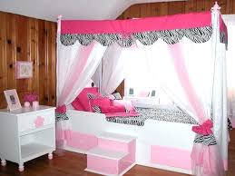 Little Girl Canopy Bed Amazing Girls Ideas With 18 ...