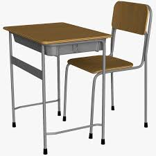 school desk. Japanese School Desk H