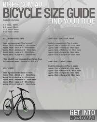 Giant Bike Size Chart Australia Bedowntowndaytona Com