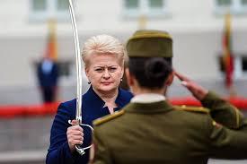 Две жизни президента Литвы Грибаускайте Прибалтика Бывший СССР  Две жизни президента Литвы Грибаускайте