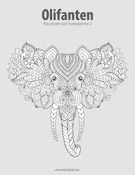Amazoncom Olifanten Kleurboek Voor Volwassenen 2 Volume 2 Dutch