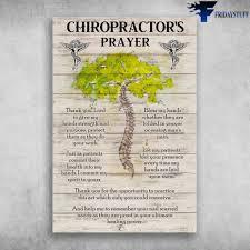 human spine tree chiropractor s prayer