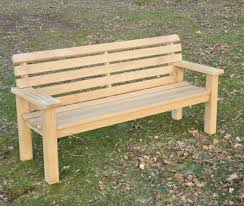 holes in the rails are plugged flat arms for resting mugs cups or pints comfort seat profile memorial or garden use
