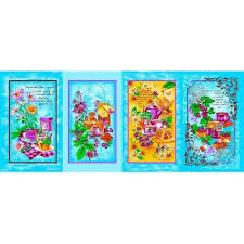 Купить <b>Набор полотенец</b> Чаепитие, голубой (И 716-3) <b>4</b> шт. от ...