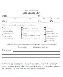 Medical Incident Report Template Aikidohorice Info