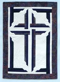 57 best Church quilts images on Pinterest | Crafts, Blouses and Loom & Wondrous Cross quilted wall hanging pattern by In The Doghouse Designs Adamdwight.com