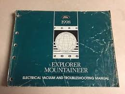 1998 ford explorer mercury mountaineer wiring diagram repair image is loading 1998 ford explorer mercury mountaineer wiring diagram repair
