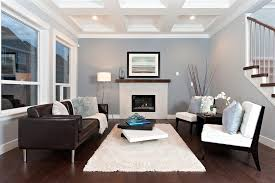 dark brown hardwood floors living room. White Shag Rug In Living Room Contemporary With Dark Wood Fireplace Ledge Brown Leather Sofa Hardwood Floors Z
