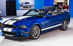 2013 Ford Shelby GT500 Convertible First Look - 2012 Chicago Auto ...