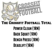 Image result for crossfit football total