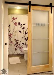 glass doors for bathrooms. The DIY Sliding Barn Door Ideas For You To Use Glass Doors Bathrooms