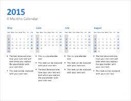Ppt Calendar 2015 Sample Power Point Calendar Template 8 Documents In Ppt Psd