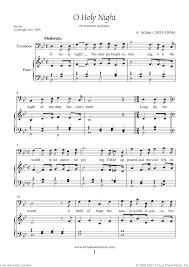 Voice traditional voice traditional voice free sheet music o holy night. Free Adam O Holy Night Sheet Music For Trombone And Piano Pdf
