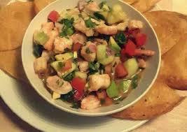 shrimp ceviche ceviche de camaron