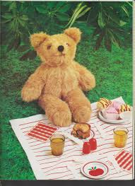 Teddy Bear Chart Pdf Digital Download Vintage Chart Sewing Pattern To Make A Teddy Bear 40 Cm A Stuffed Plush Soft Body Toy