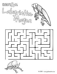 Imprimer Labyrinthe Facilell L Duilawyerlosangeles