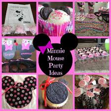 Classic Red And Black Minnie Mouse Party Supplies Food Ideas Baby