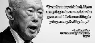 Lee Kuan Yew Memorable Quotes… | Jide-Salu.com