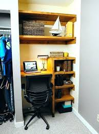 closet into office. Diy Closet Office Marvelous Awkward Space Makeover Home  Improvement Projects To Inspire And Be Into