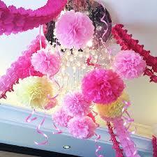 Paper Ribbon Flower Buy 10cm Paper Flower Ball Wedding Supplies Paper Ribbon Garland