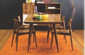 retro style oz design dining itable and 4 chairs for