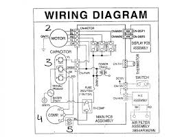 component ac wiring wiring diagram parts list for model wiring diagram parts list for model us12b30a friedrich century ac motor 50029758 00001