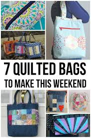 Weekend Warriors: 7 Quilted Bag Patterns | Bag, Patterns and Purse & Tote bag Adamdwight.com