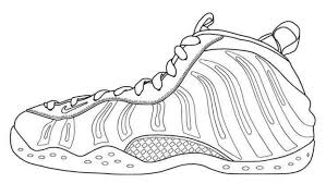 Great Nike Shoe Coloring Page With Nike Coloring Pages Awesome Air