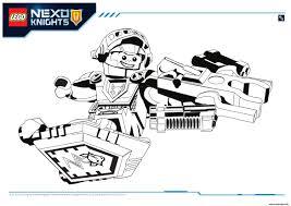 Coloriage Lego Nexo Knights Aaron 1 Jecolorie Com