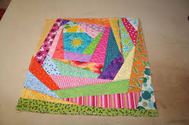 How to Sew an Easy Crazy Quilt Block: 9 Steps (with Pictures) & It is ungodly hot outside, so it seemed like a pretty good day to sit in  the basement and play with my sewing machine... and on days like this I  tend to ... Adamdwight.com