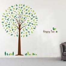 modern korean furniture. korean fashion removable wall stickers bedroom living room tv background sticker happy tree modern furniture c