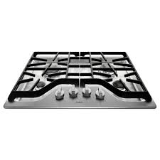 30 gas cooktop. Maytag 30 In. Gas Cooktop In Stainless Steel With 4 Burners Including 15000-BTU