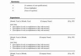 Social Work Resume Templates Free With Free Resume Templates Example ...