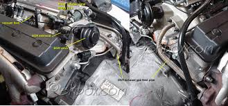 4th gen lt1 f body tech component location views egr exhaust gas recirculation components