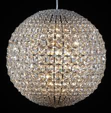polished nickel crystal chandeliers and chandeliers chandelier beautiful crystal globe chandelier