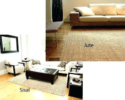 sisal vs jute jute vs sisal medium size of area rug cleaning carpet best