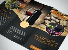tri fold maker free tri fold brochure maker wine tour fold brochure template free