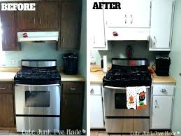 painting laminate cabinets refinish kitchen how to paint com uk