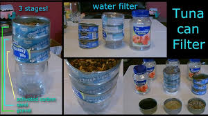 homemade water filter. Brilliant Water Picture Of Homemade Water Filter The 3stage TunaCan Purifier On Filter S
