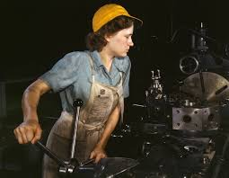 w during world war ii some women performed roles which would otherwise have been considered male jobs by the culture of the time