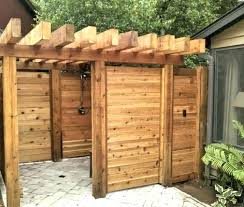 outdoor solar shower how to build an outdoor shower large size of shower enclosure for glorious outdoor solar shower