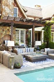 4 Indoor Decorating Moves to Take Outside   Outdoor spaces, Spaces and Big