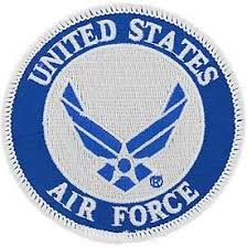USAF, <b>United States</b> Air Force Symbol - <b>Embroidered Patches</b> ...