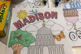 Select from 35627 printable crafts of cartoons, nature, animals, bible and many more. Madison Wi Coloring Activity Sheets For Kids Destination Madison
