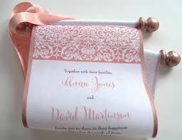 scroll wedding invitations invitation template
